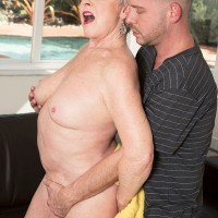 Over 60 pornstar Jewel removing bikini for doggystyle sex outdoors