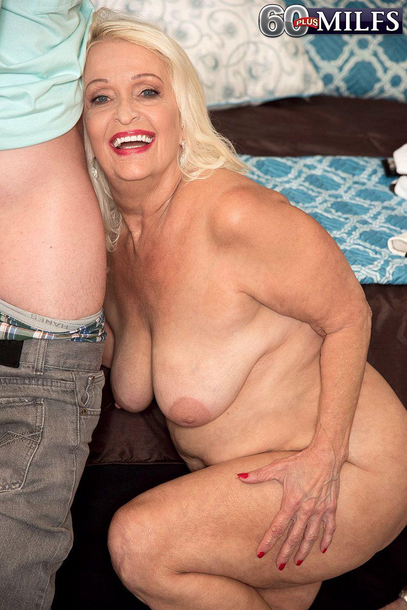 Granny porn model