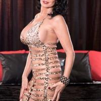 Over 60 pornstar and escort Rita Daniels banging two dicks in MMF threeway