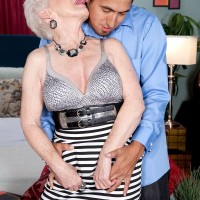 Naughty over 60 pornstar ready to fuck younger man in hardcore sex action