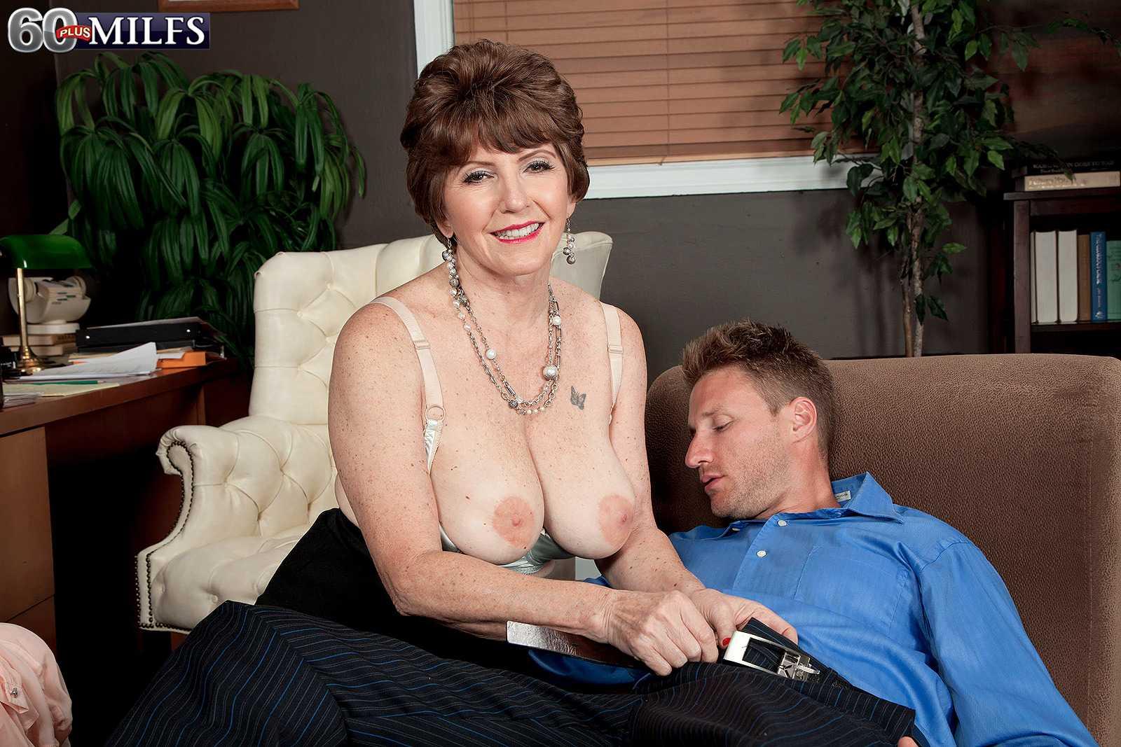Sixty + MILF Bea Cummins Gets Her Ass Filled With Schlong