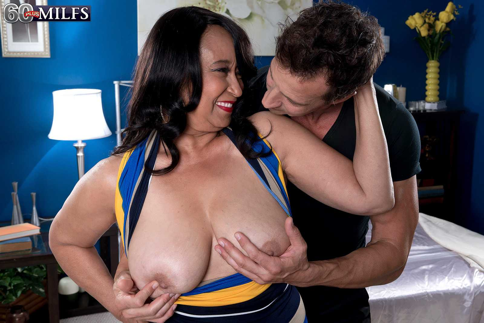 First Time on 60plusmilfs.com for Rochelle hot