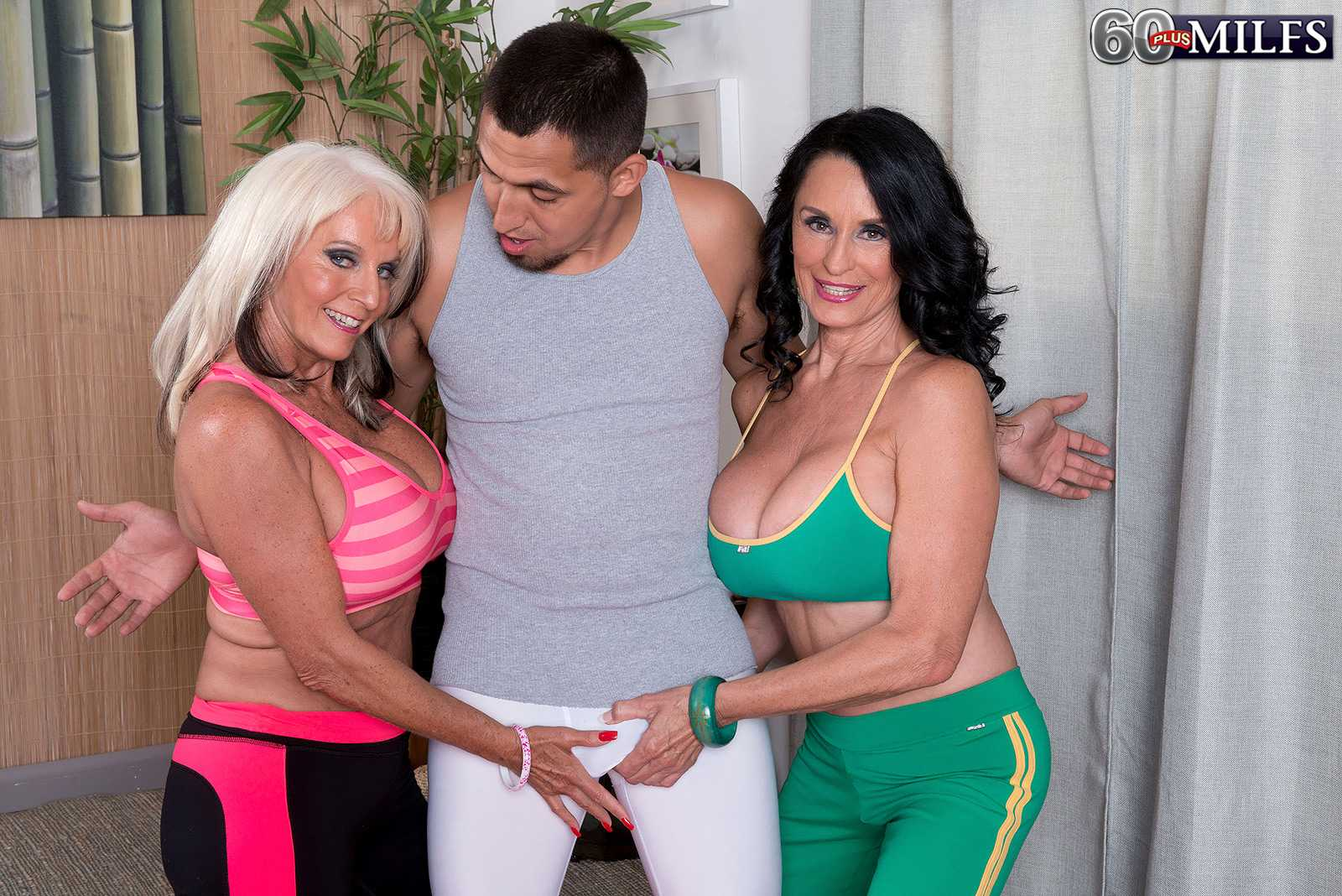 Older women Sally D'Angelo and Rita Daniels Share A dick
