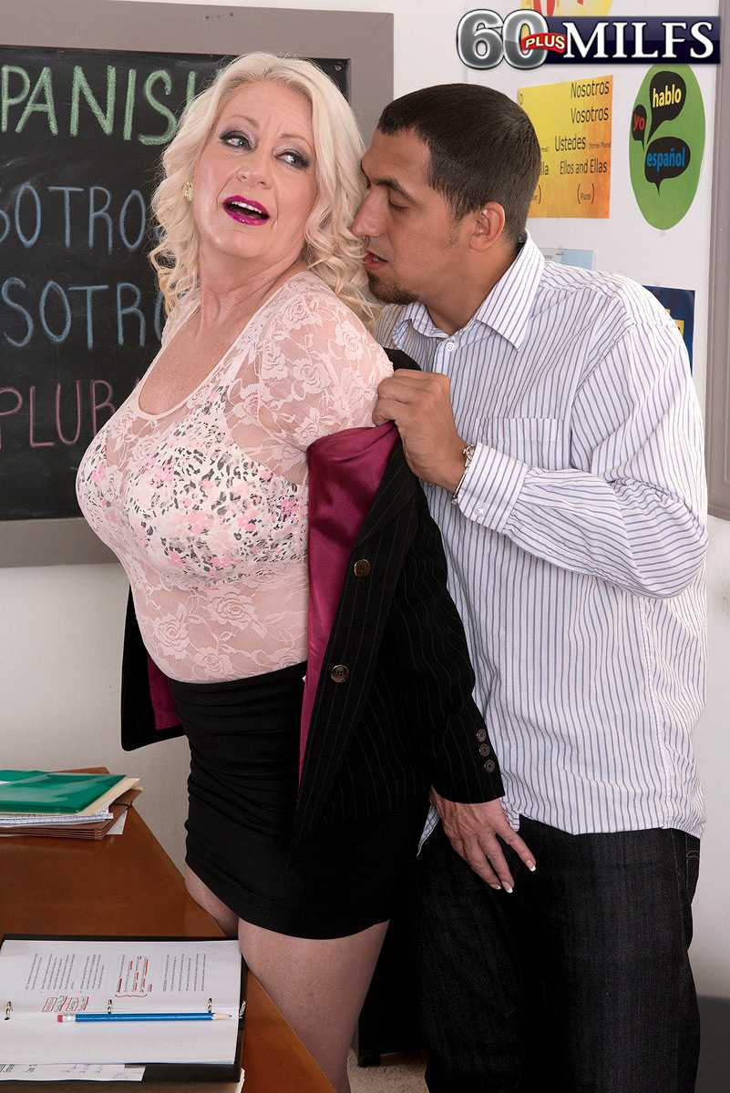 Milfs Over 60 Like Angelique DuBois Are Easy On The Eyes