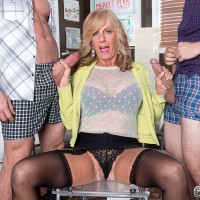 Over 60 Milf Phoenix Skye Gets Her Butt Packed With Schlong