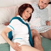 Over Sixty Nurse Kim Anh Sucks & Fucks The Meat stick