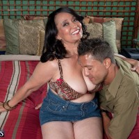 Over Sixty Porn Pics Featuring Rochelle Hot