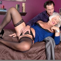 Sweet Sixty + Milf Jeannie Lou Gets Ass Fucked