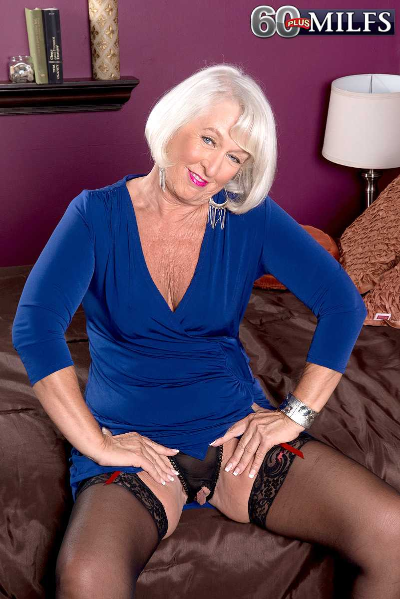 sexy 60 plus milf jeannie lou gets ass fucked   over 60 porn