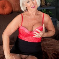 Two Meat sticks For Over Sixty Milf Jeannie Lou